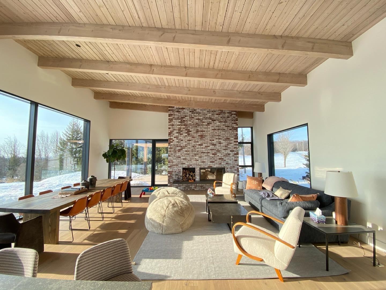 Custom Home Family Room